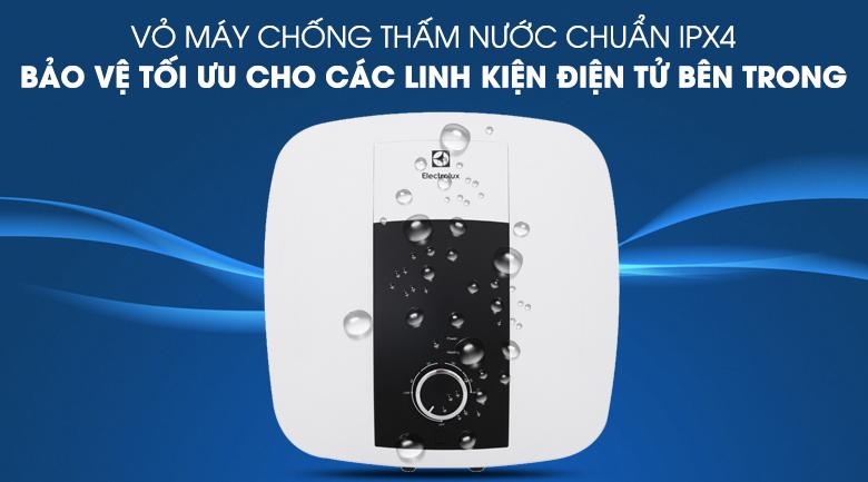 Chống nước chuẩn IPX4 - Bình nước nóng Electrolux 30 lít EWS302DX-DWM