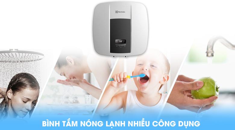 Bình nước nóng Electrolux EWS302DX-DWE 30 lít nhiều công dụng