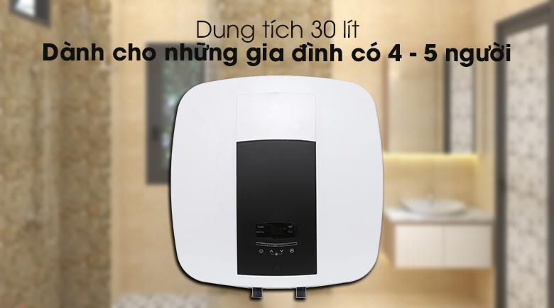 Có dung tích 30 lít - Bình nước nóng Electrolux EWS302DX-DWE 30 lít
