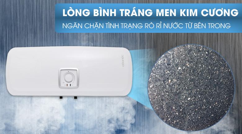 Lòng bình chứa tráng men kim cương - Bình nước nóng Atlantic SWH 30H M Ondeo HZ 30 lít