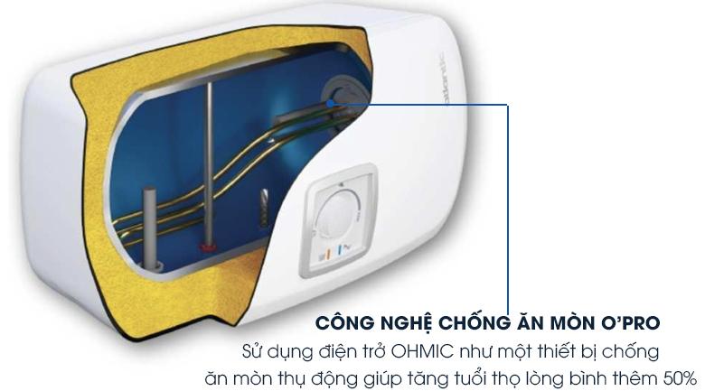 Công nghệ chống ăn mòn O'PRO - Bình nước nóng Atlantic SWH 20H M Ondeo HZ 20 lít