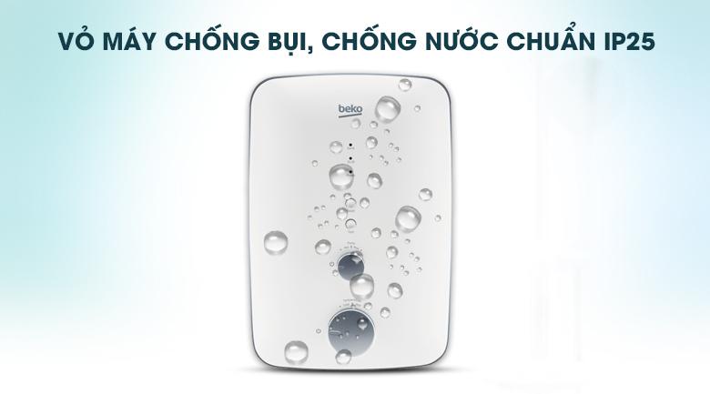 Vỏ máy chống nước và bụi chuẩn IP25 - Máy nước nóng Beko BWI45S1A-213