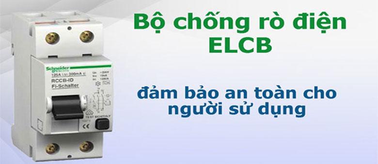 Cầu dao ELCB - Máy nước nóng Ariston AN2 RS 30 lít