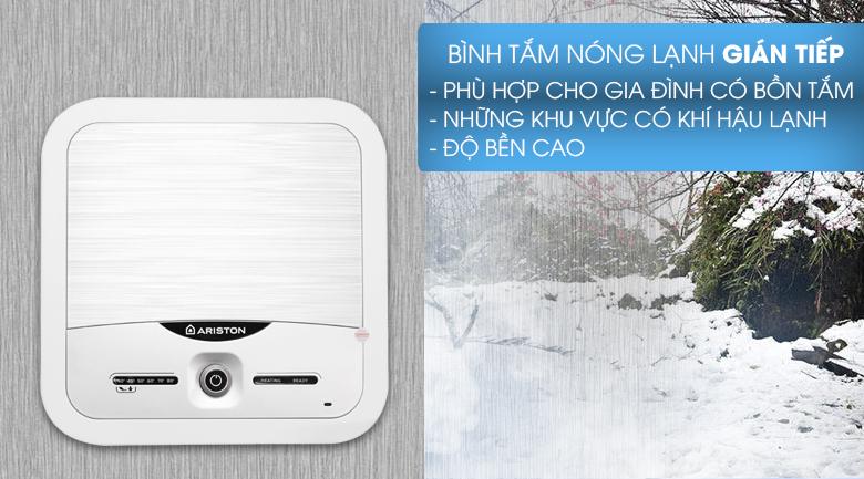 Bình chứa 15 lít - Bình nóng lạnh Ariston 15 lít AN2 15 LUX 2.5 FE