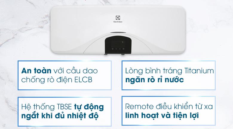 Máy nước nóng gián tiếp Electrolux 20 lít 2500W EWS202DX-DWE
