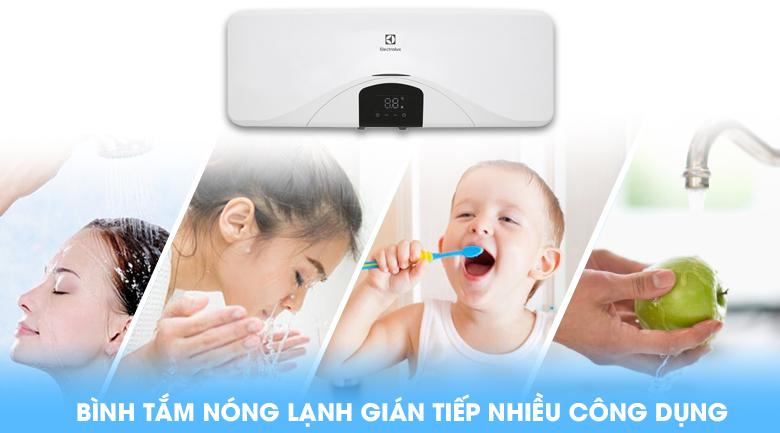 Đa dạng công dụng - Bình nóng lạnh Electrolux EWS202DX-DWE 20 lít
