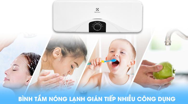 Bình nóng lạnh đa năng - Bình nóng lạnh Electrolux EWS202DX-DWM 20 lít