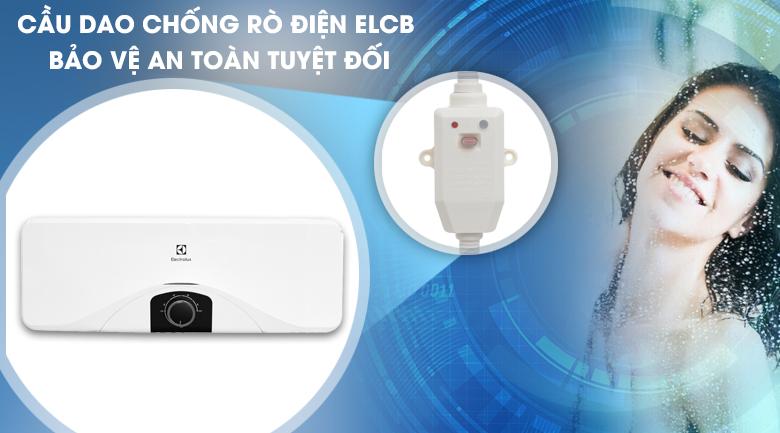 Cầu dao ELCB - Bình nóng lạnh Electrolux EWS202DX-DWM 20 lít