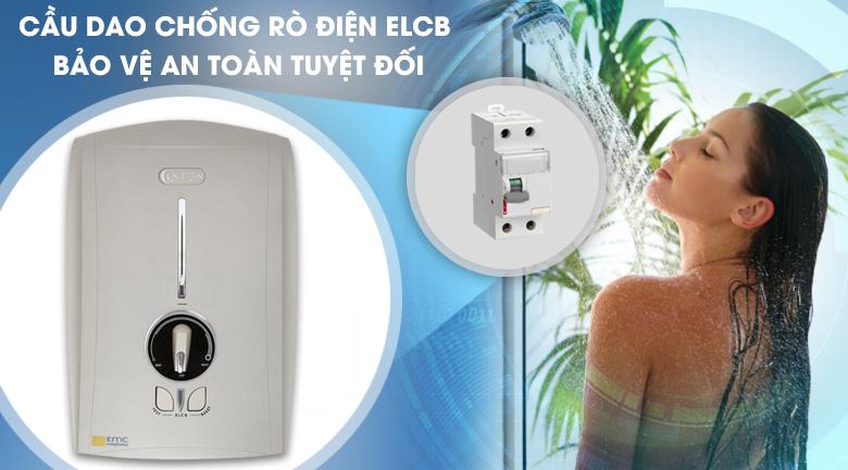 Hệ thống ELCB - Máy nước nóng Centon GD600E 4500W
