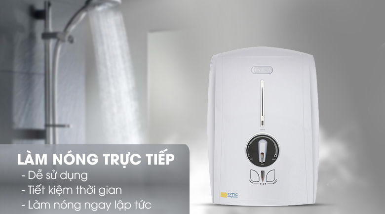 Làm nóng trực tiếp - Máy nước nóng Centon GD600ESP 4500W