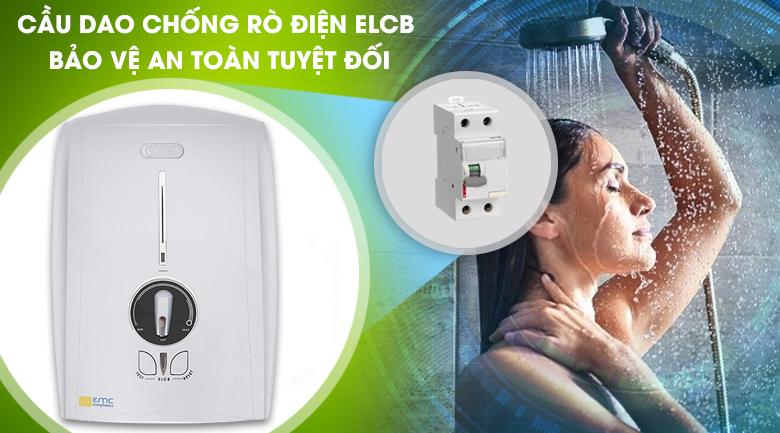 Cầu dao ELCB - Máy nước nóng Centon GD600ESP 4500W