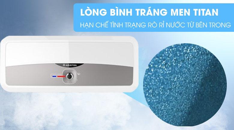 Lòng bình tráng men Titan - Bình nóng lạnh Ariston 20 lít SL2 20 RS 2.5 FE