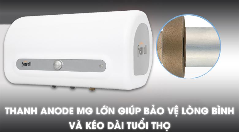 Thanh ANODE MG - Máy nước nóng Ferroli QQ Evo 30L ME 30 Lít