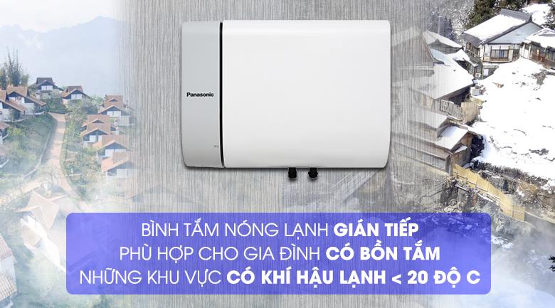 Cơ chế làm nóng gián tiếp - Bình nước nóng Panasonic DH-15HAM 15 Lít