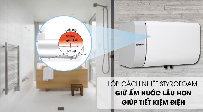 Lớp cách nhiệt Styrofoam - Bình nước nóng Panasonic DH-20HAM 20 Lít