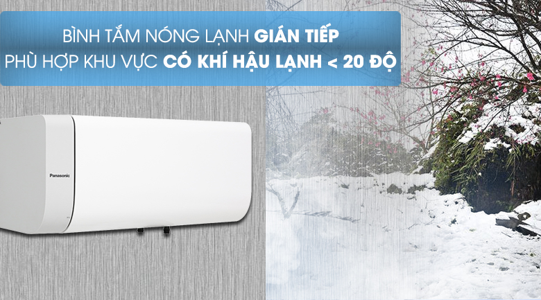 Bình nước làm nóng gián tiếp - Bình nước nóng Panasonic DH-30HAM 30 Lít