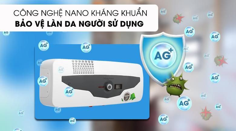 Máy nước nóng Kangaroo 22 lít KG 70A2 - loại bỏ vi khuẩn, an toàn cho làn da người dùng với công nghệ kháng khuẩn nano