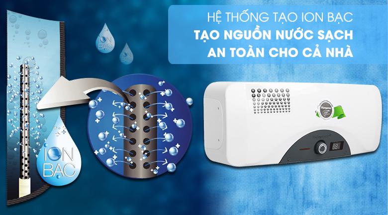 Công nghệ Nano kháng khuẩn - Máy nước nóng Kangaroo 22 lít KG 72A2