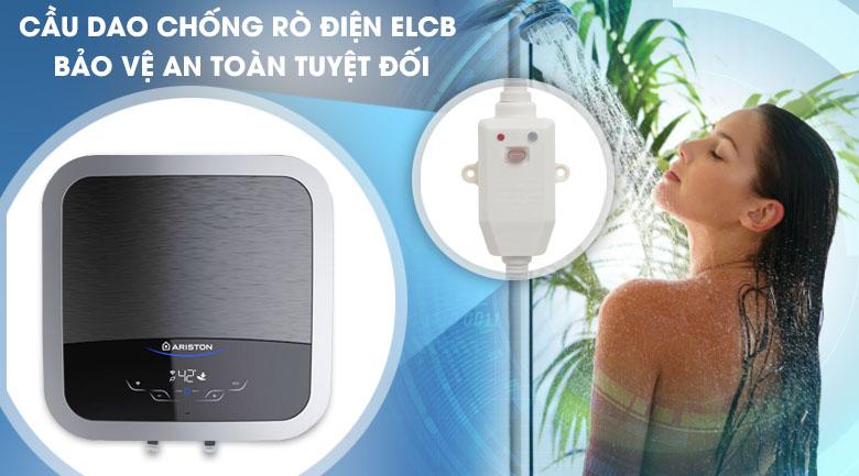 Hệ thống ELCB - Máy nước nóng Ariston 30 lít AN2 30 TOP WIFI