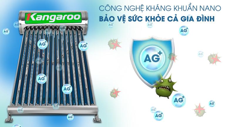 Công nghệ Nano kháng khuẩn - Máy nước nóng Kangaroo GD1414 140 lít