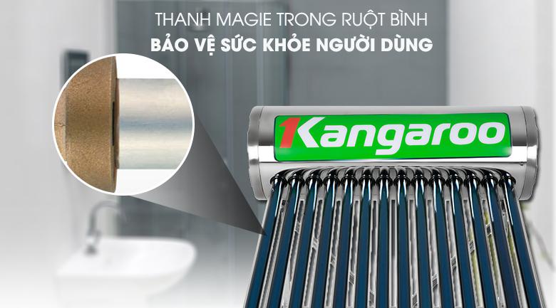 Thanh Magie trong ruột bình - Máy nước nóng Kangaroo GD1414 140 lít