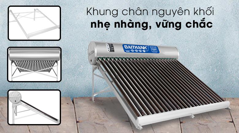 Máy nước nóng năng lượng mặt trời Đại Thành 250 lít Vigo 58-24 - Khung chân