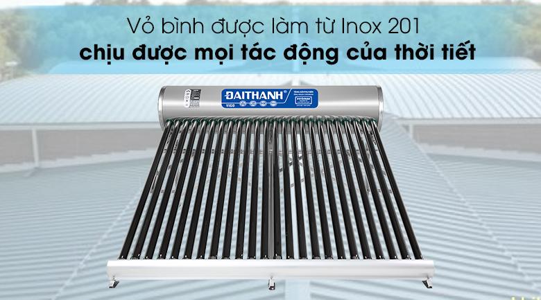 Máy nước nóng năng lượng mặt trời Đại Thành 250 lít Vigo 58-24 - Vỏ bình