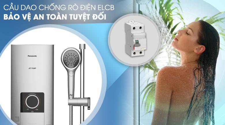 Tích hợp cầu dao ELCB - Chống rò rỉ điện, bảo vệ an toàn người dùng