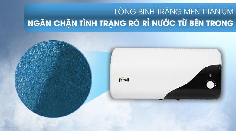 Bình nước nóng 20 lít Ferroli MIDO-DE 20L - Lòng mình tráng men Titan