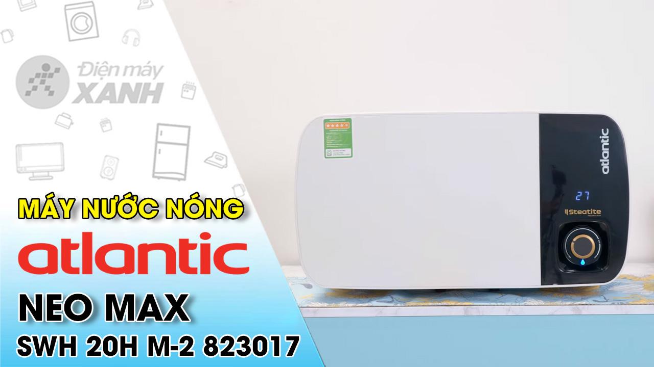 Máy nước nóng gián tiếp Atlantic 20 lít 2500W Neo Max SWH 20H M-2 823017