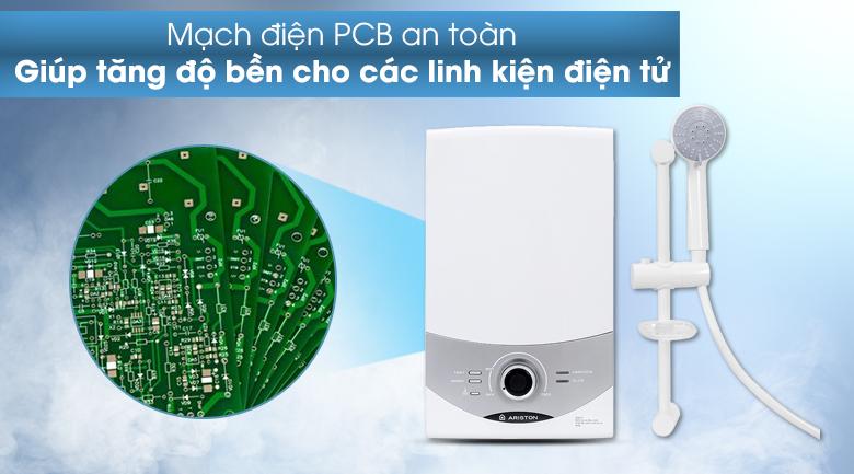 Máy nước nóng Ariston AURES SM45PE SBS VN 4500W - Mạch điện PCB được bảo vệ an toàn