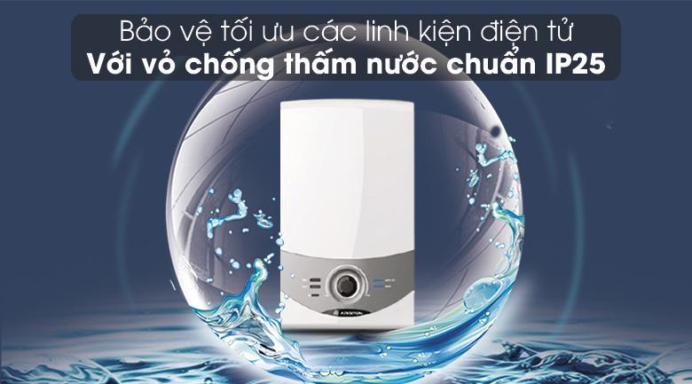Máy nước nóng Ariston AURES SM45E SBS VN 4500W - Chống thấm nước chuẩn IP25