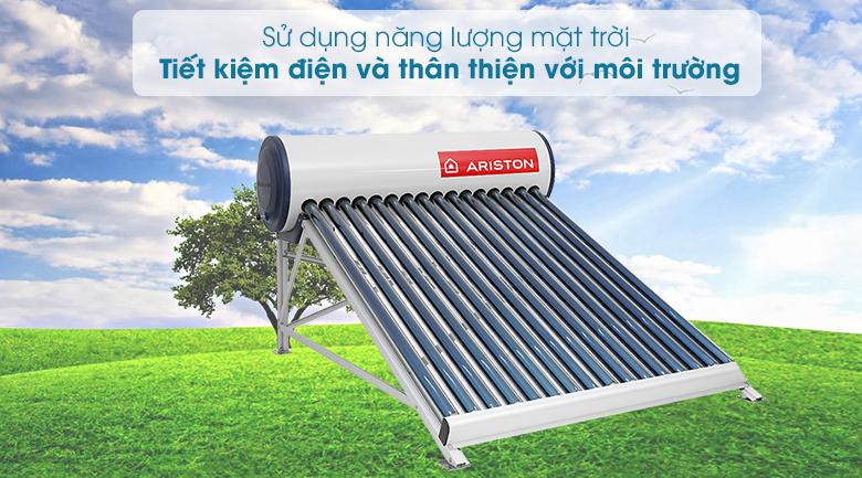 Máy nước nóng năng lượng mặt trời Ariston 200 lít ECO 1816 - Tiết kiệm điện