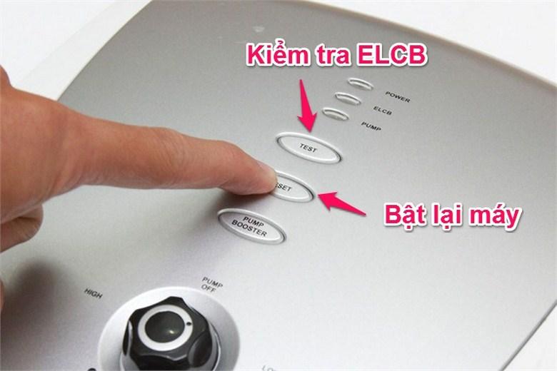 Hệ thống chống giật điện ELCB