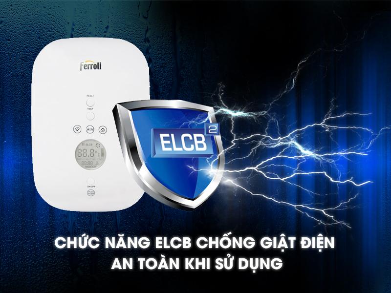 Chức năng chống giật điện (ELCB)