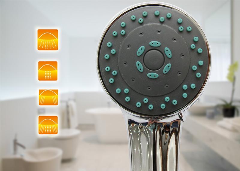 Vòi sen massage cho người dùng cảm giác thoải mái