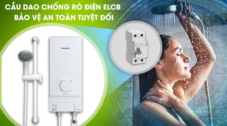 ELCB - Máy nước nóng Panasonic DH-4MP1VW 4.5 kW