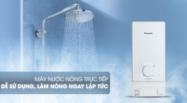 Đun nóng trực tiếp - Máy nước nóng Panasonic DH-4MP1VW 4.5 kW