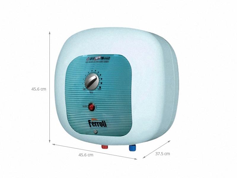 Thông số kỹ thuật Bình nước nóng Ferroli Cubo E 15 lít