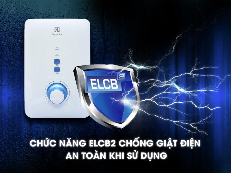 Chức năng chống giật ELCB đảm bảo an toàn cho người sử dụng