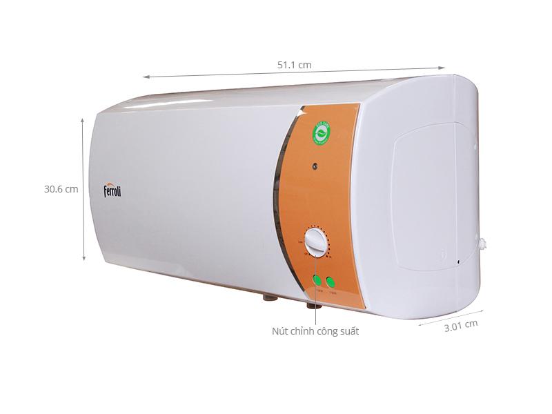 Thông số kỹ thuật Bình nước nóng Ferroli VERDI 30L TE 30 lít