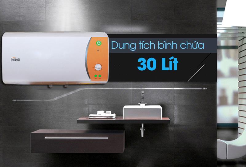 Bình nước nóng Ferroli VERDI 30L TE 30 lít