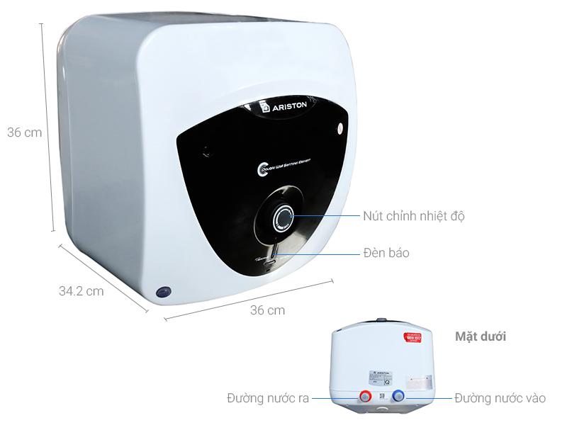 Thông số kỹ thuật Bình nóng lạnh Ariston AN 15 LUX FE 15 lít