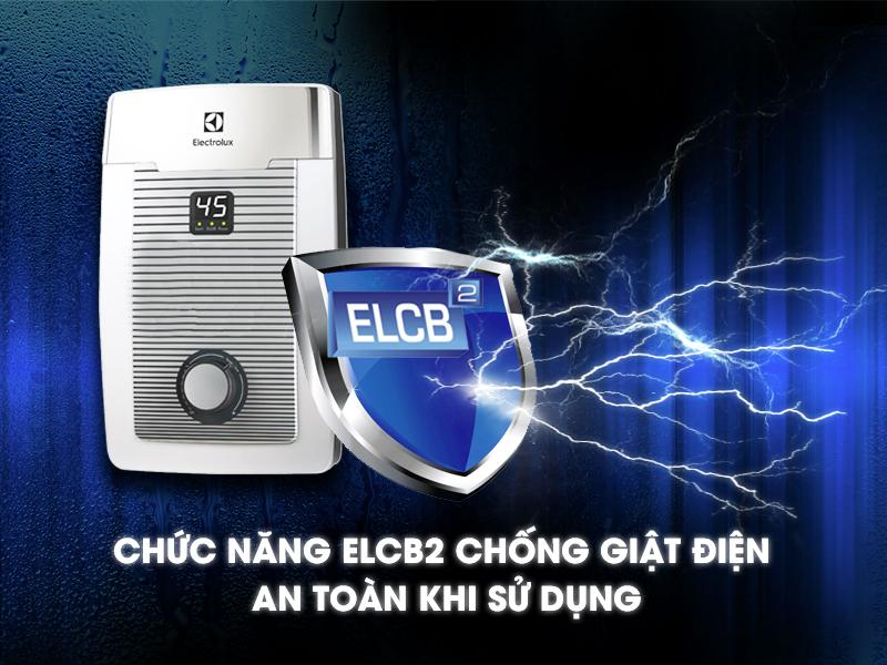 Chức năng chống giật ELCB thông minh