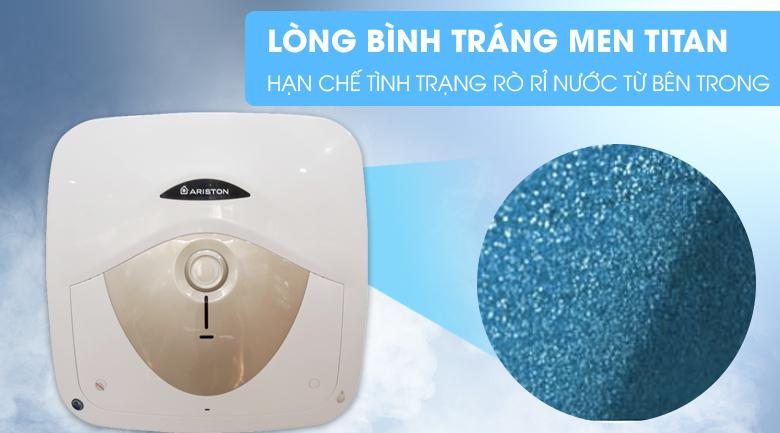 Lòng bình tráng men Titan - Bình nóng lạnh Ariston 30 lít AN 30 RS MT