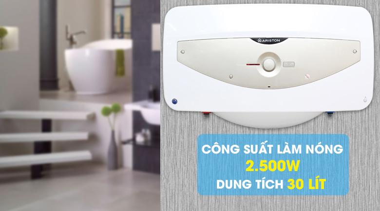 Bình tắm nóng lạnh Ariston SL 30 QH FE - MT 30 lít