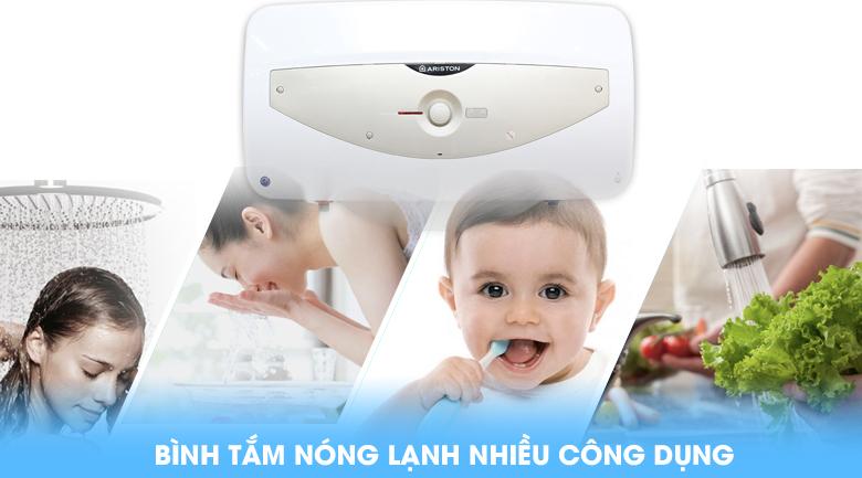 Nhiều công dụng - Bình tắm nóng lạnh Ariston SL 30 QH FE - MT 30 lít