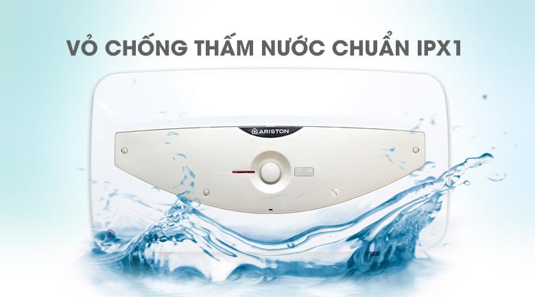 Vỏ chống thấm nước IPX1 - Bình tắm nóng lạnh Ariston SL 30 QH FE - MT 30 lít