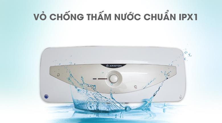 Vỏ chống thấm nước chuẩn IPX1 - Bình nóng lạnh Ariston 20 lít SL 20 MT