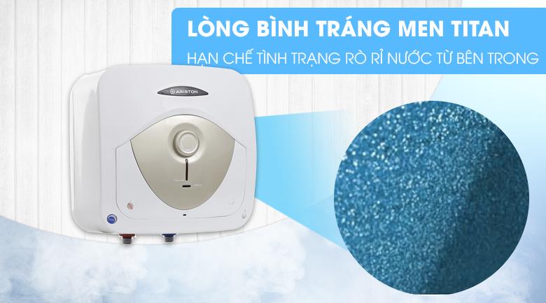 Lòng bình tráng men Titan - Bình tắm nóng lạnh Ariston 15 lít AN 15 RS MT